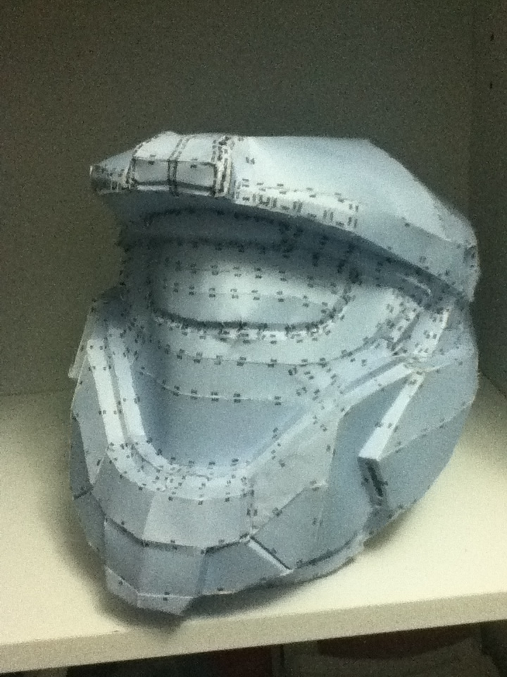 Kat's Helmet 3rd Attemp Redone by Gundamluver
