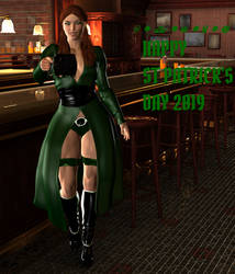 2019 Happy St Patrick's Day by onek1995