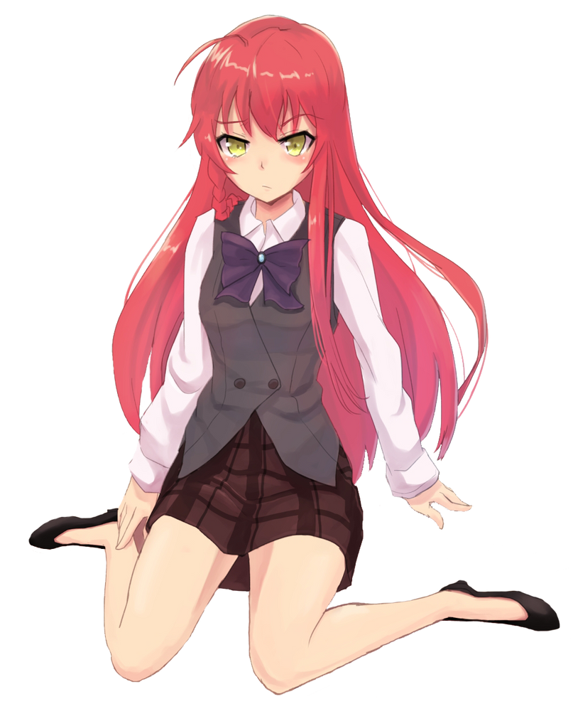 Download Anime Hataraku Maou Sama S2: Hataraku Maou-sama! Yusa Emi Render By ChaoticLittle On