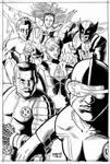 X-Men Pin up Inks