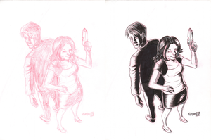 WOBG Fan Art Pencils and Inks