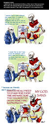 Undertale ask blog: digestion by neonUFO