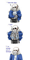 Sans makes an awful decision