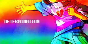 DETERMINATION (Undertale by Letters)
