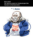 Undertale ask blog: why is this even asked