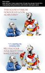 Undertale ask blog: spooky scary skeletons