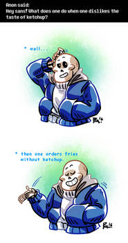 Undertale ask blog: not sure what you expected