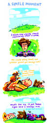 Throw grass at your friends (gemsona art) by neonUFO