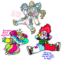 [CLOSED] PET CLOWNS by neonUFO