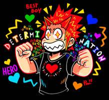 [BNHA] BEST HERO, THE DETERMINATION BOY by neonUFO