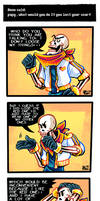 Undertale ask blog: that one scarf