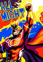 [HERO ACA] All Might by neonUFO