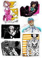 INKTOBER 21-26: Various