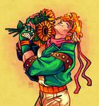 Sunflowers for Caesar