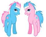 genderswapped spa ponies