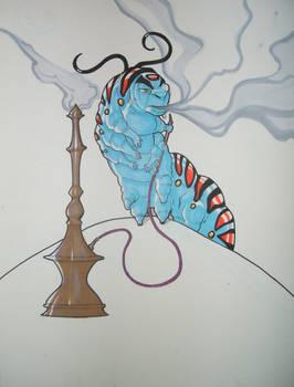 The Smoking Catepillar