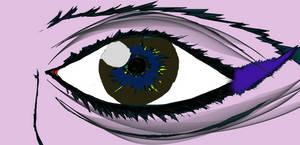 Blah, eye.