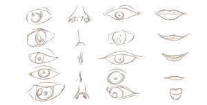 Eyes, Mouth, Nose