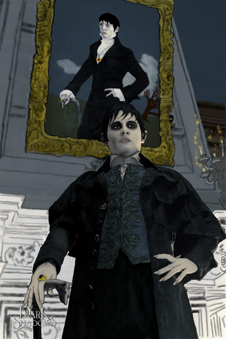 My offering:  Barnabas Collins by LevitatingBuddha