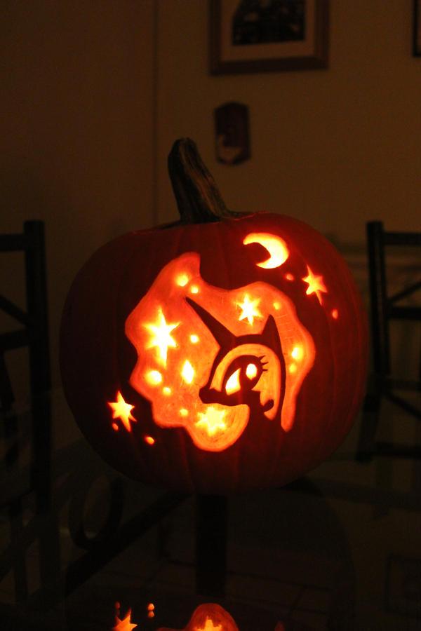 Nightmare Moon Pumpkin By Crypticmagic On Deviantart