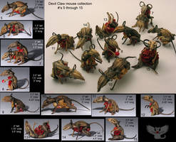 Devil Claw Mouse collection by ART-fromthe-HEART