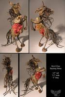 Devil Claw Bucking Horse