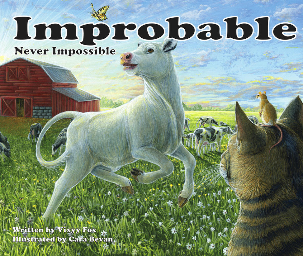 Improbable...Never Impossible Children's Book! by ART-fromthe-HEART