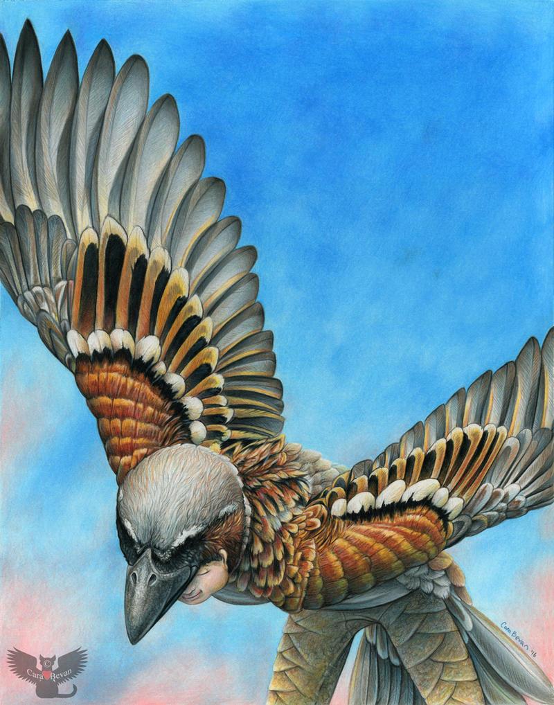 Bird Flight by ART-fromthe-HEART