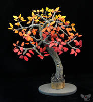 Gourd Tree #2, Autumn Nights by ART-fromthe-HEART