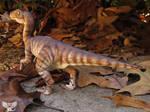Velociraptor sclupture