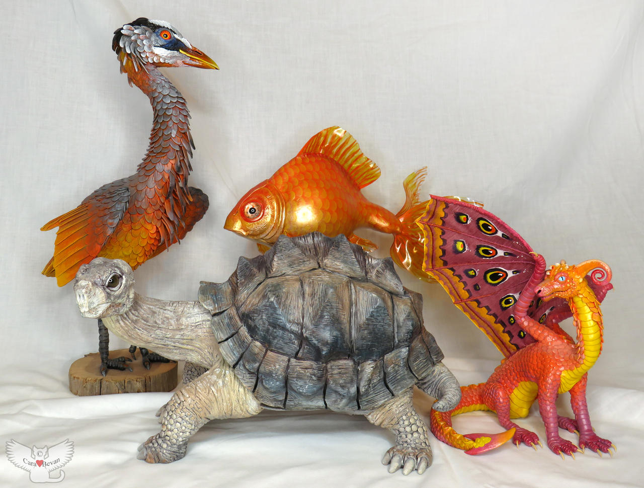 The Gourd Critter Collection by ART-fromthe-HEART