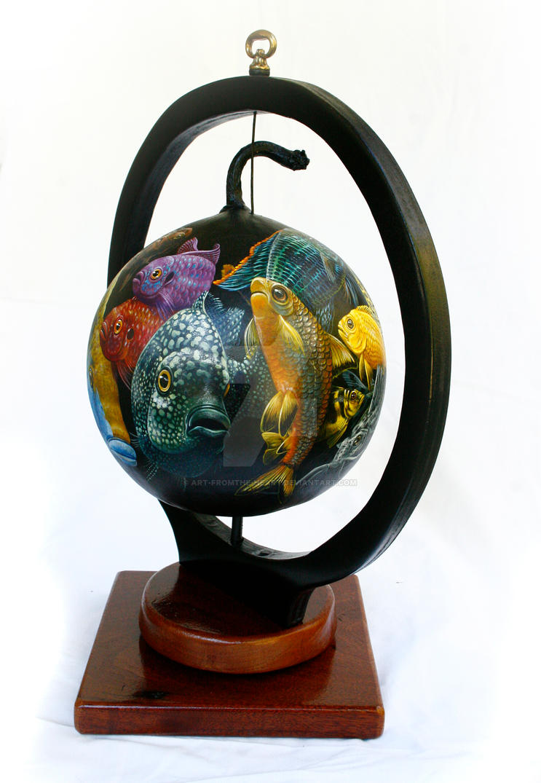 Full Aquarium by ART-fromthe-HEART