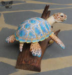 Beach Themed Sea Turtle