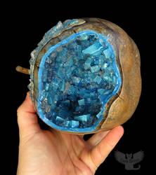 Gourd Celestite Geode by ART-fromthe-HEART