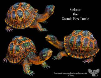 Celeste the Cosmic Box Turtle by ART-fromthe-HEART