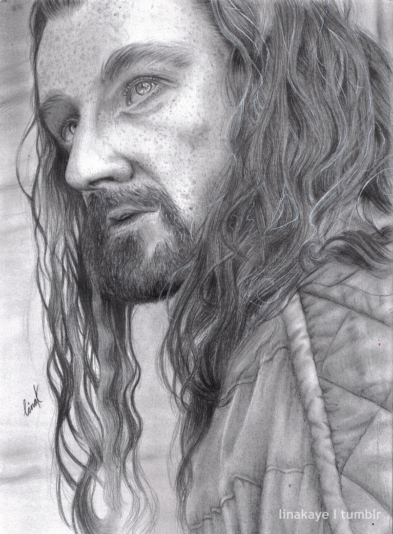 How To Draw Thorin Oakenshield In Pencil  Apps Directories