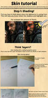 How to draw: Realistic Skin
