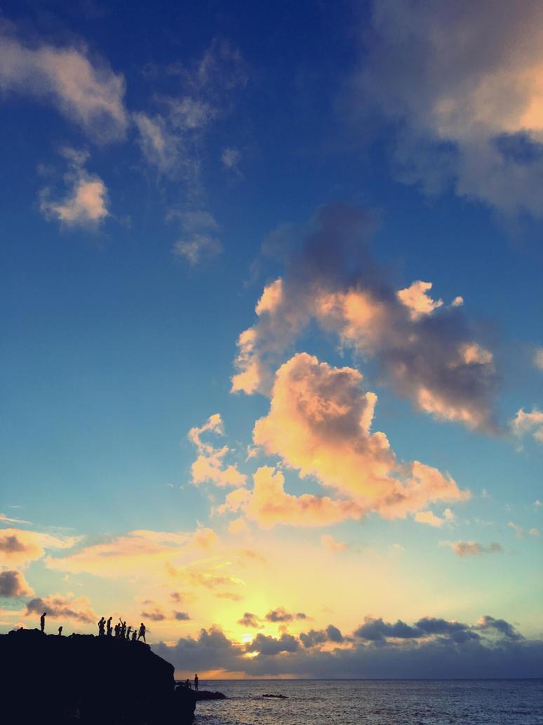 Waimea Sun by SaraMFDraws