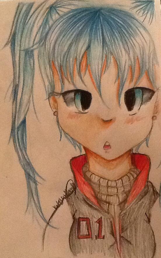 Miku Hatsune by SweetAbby1624