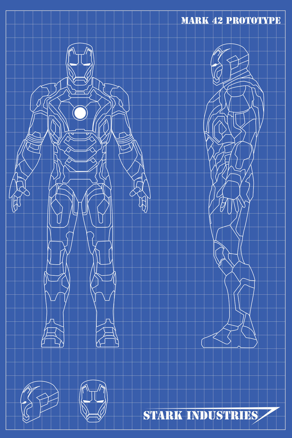 Iron man blueprints mk42 by nickgonzales7 on deviantart for Where to buy blueprint paper