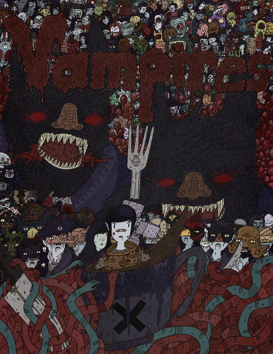 Vampires by frankthewonderfulazn