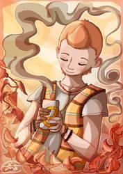 Tintin Tea - FANART FRIDAY by gnuttormen