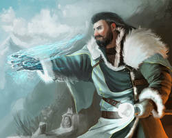 Frost mage by WarNick
