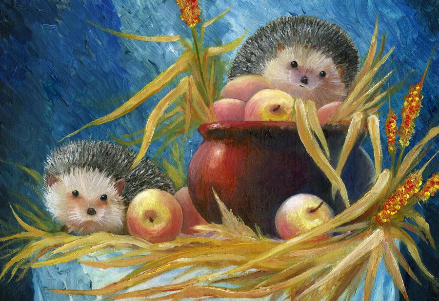 Hedgehogs by WarNick