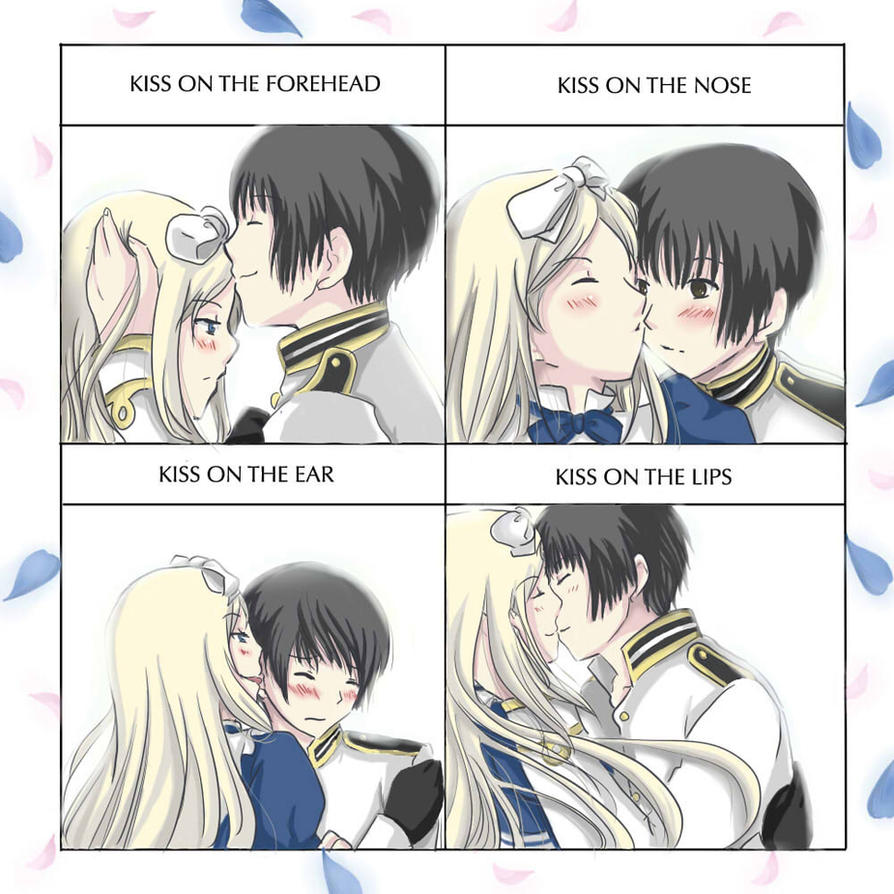 japan x Belarus-kiss meme- by Rupyon