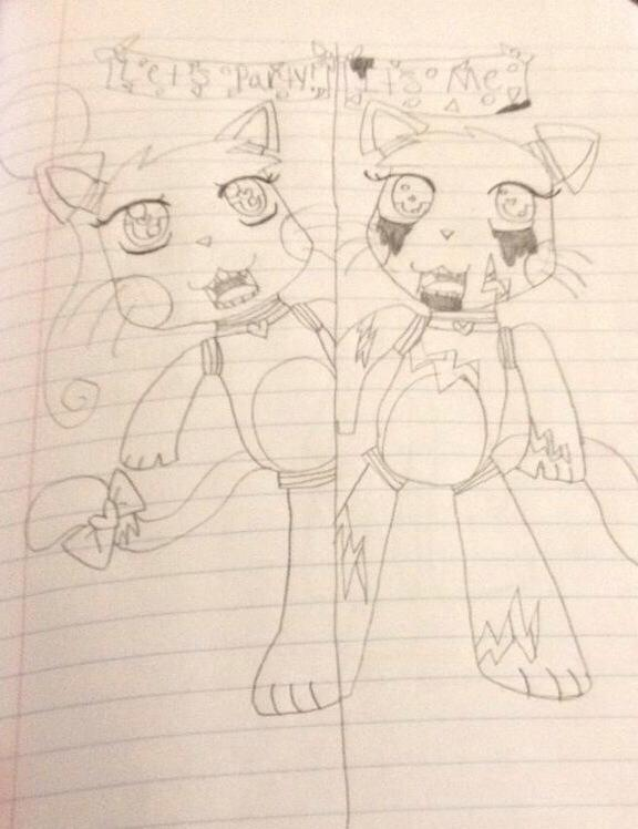 Five nights at freddy s sugar the french kitten by princesscooldance