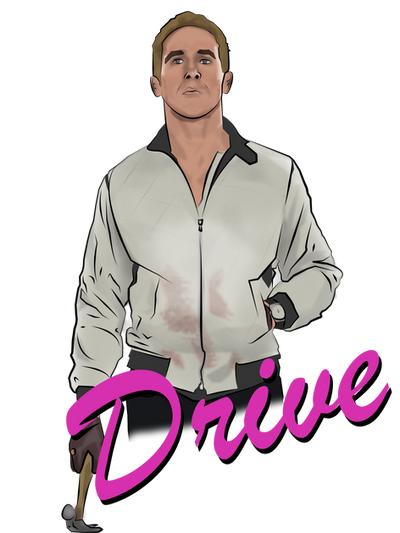 Ryan Gosling Car Drive Movie