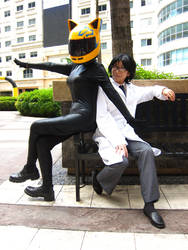 Durarara: Celty and Shinra