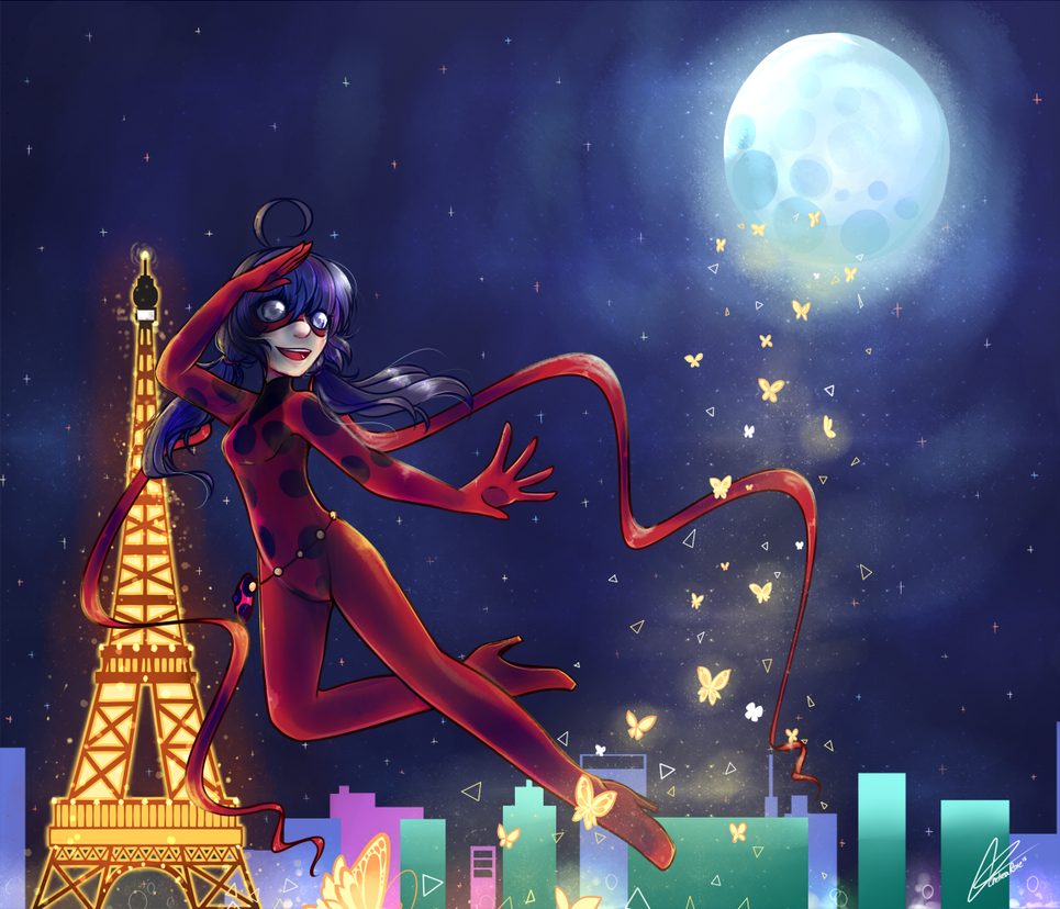 Heroine Of Paris Miraculous Ladybug By Lucciolacrown On