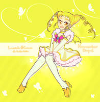 Huevember Day 1 - Cure Lemonade by witchuru